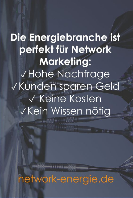 Energiebranche Network Marketing